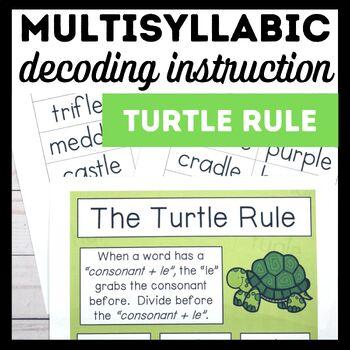 Turtle Rule Book 6-Advanced Decoding Strategies