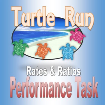 Turtle Run Performance Task for Sixth Grade