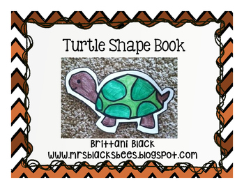 Turtle Shape Book