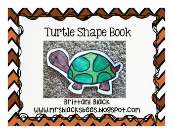 Turtle Shape Book