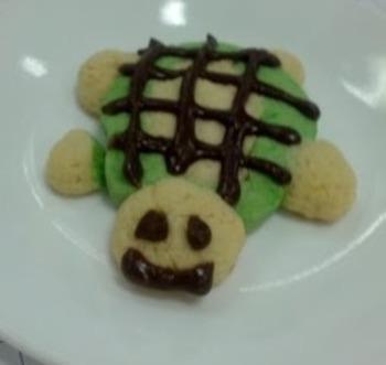 Turtle Shaped Sugar Cookies Recipe