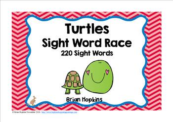 Turtle Sight Word Race