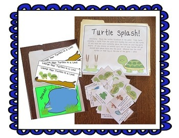 Turtle Spash! Journeys Unit 3 Lesson 14 Kindergarten Sup. Act.