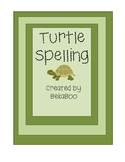 Turtle Spelling Set 1