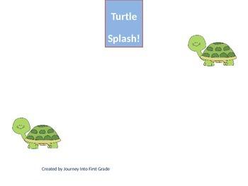 Turtle Splash (Kindergarten Journeys Unit 3 Lesson 14)