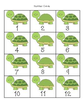 Turtle Target Number