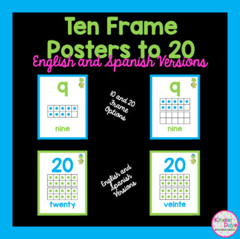 Turtle Ten Frame Posters (0-10)