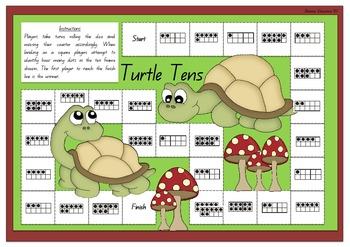 Turtle Tens Board Game