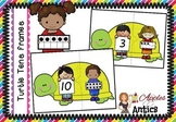 Turtle Tens Frames Puzzles - Numbers to 10