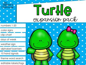 Turtle Theme Decor {Expansion Pack}