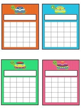 Turtle Themed Decor | Student Reward Charts | Turtle Theme