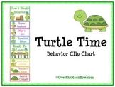 Turtle Time Behavior Clip Chart
