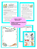 Turtle, Turtle, Watch Out! Aligned Reading Comprehension Resource