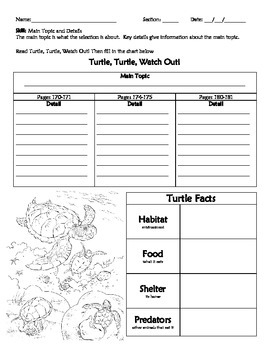 Turtle, Turtle, Watch Out! (McGrawHill Wonders 2nd Grade)