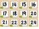 Turtle Word Wall, Calendar Numbers & Desk Plates