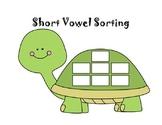 Turtle Words- Short Vowel Sorting