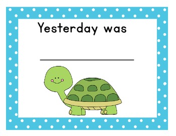 Turtle Yesterday, Today, Tomorrow Cards