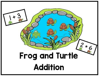 Turtle and Frog Addition