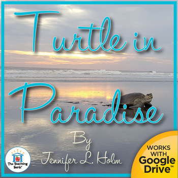 Turtle in Paradise Novel Study Book Unit