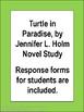 Turtle in Paradise, by Jennifer L. Holm Novel Study