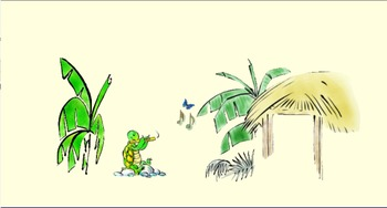 Turtle's Flute- Animated story in US English(Mac download)