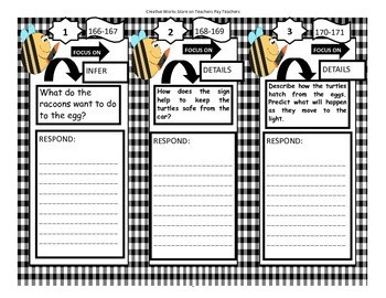 Turtle!Turtle!WatchOut! - 2nd Grade - Trifolds + Activities
