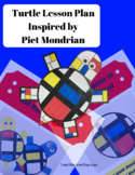 Turtles - Art Lesson Plan Inspired by Piet Mondrian