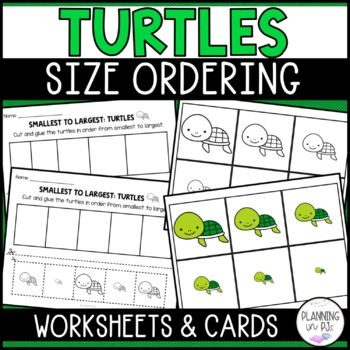 Turtles - From Smallest to Largest (Size Ordering)