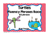 Turtles Sight Word Fluency Phrases Race