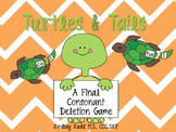 Turtles and Tails - Final Consonant Deletion Game!