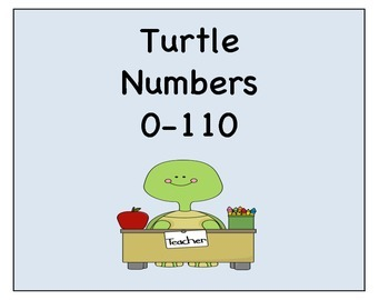 Turtle's numbers 0-100