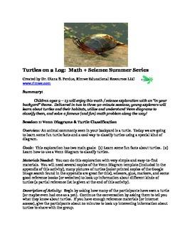 Turtles on a Log:  Math + Science Fun