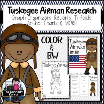 Tuskegee Airman Research Report Bundle