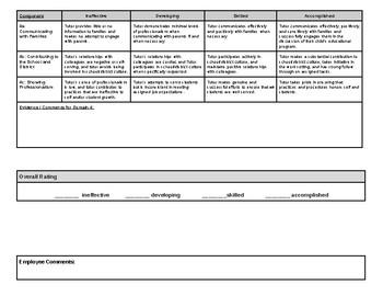 Tutor Evaluation Tool