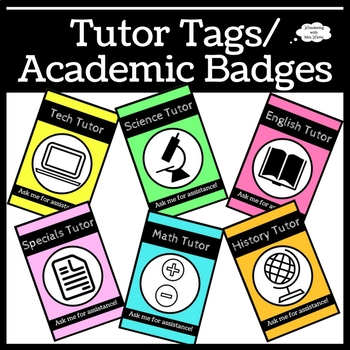Tutor Tags / Academic Badges