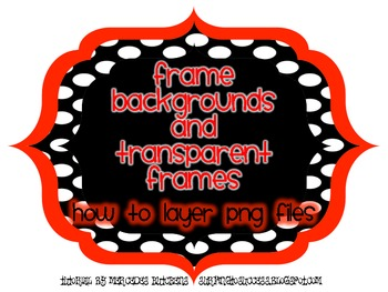 Tutorial: Frame Backgrounds and Transparent Frames