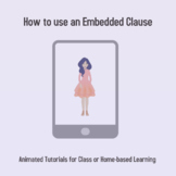Animated Tutorial: How to use Embedded Clauses
