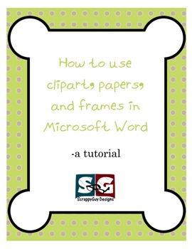Tutorial - How to use frames in MSWord