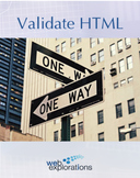 Tutorial: Validate HTML (Distance Learning)