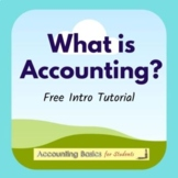 Tutorial - What is Accounting?