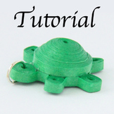 Tutorial for Paper Quilled Turtle