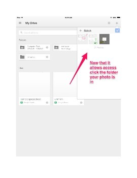 Google Drive- Tutorial of Uploading Pictures Mobile Version