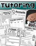 Tutoring After School Summer Start Up Kit Teacher Resources Editable