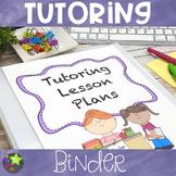 Tutoring Business Binder