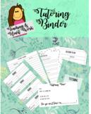 Tutoring Binder! Editable