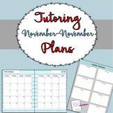 Tutoring Binder {Winter Version}