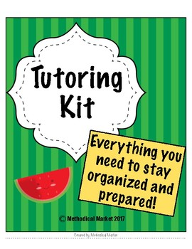 Tutoring Contract Kit