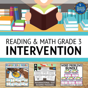Reading and Math RTI Bundle