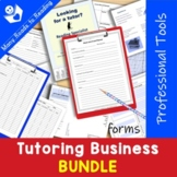 Tutoring Business BUNDLE {Professional Tools}