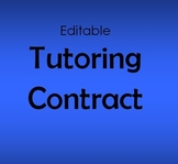 Tutoring Contract Worksheets & Teaching Resources | TpT